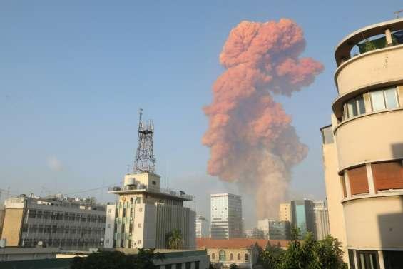Forte explosion entendue à Beyrouth (AFP)