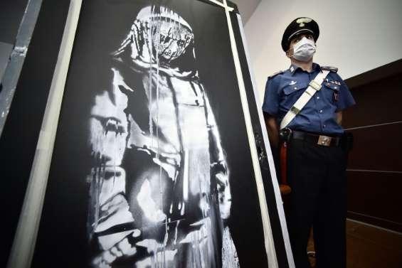 Du Bataclan à l'Italie: l'enquête qui a mené les policiers au Banksy volé