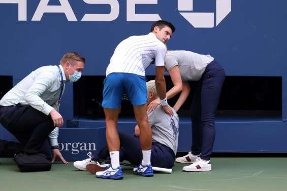 Séisme à l'US Open: Djokovic disqualifié pour un geste d'humeur