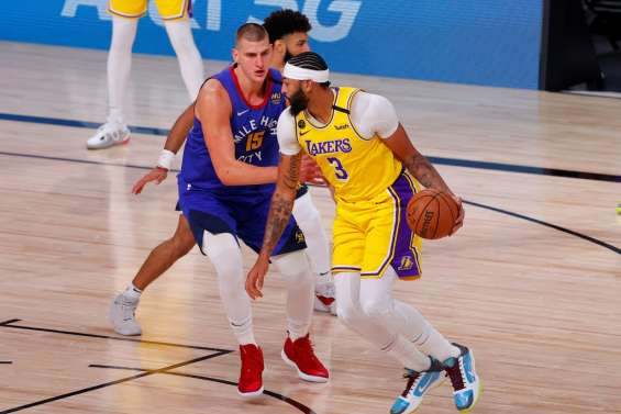 Play-offs NBA: Davis et les Lakers punissent les Nuggets d'entrée