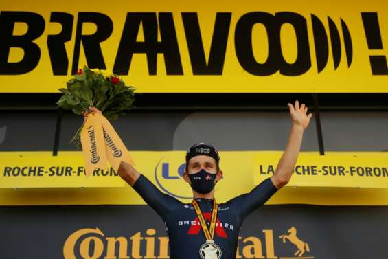 Tour de France: Ineos sauve l'honneur et signe un doublé