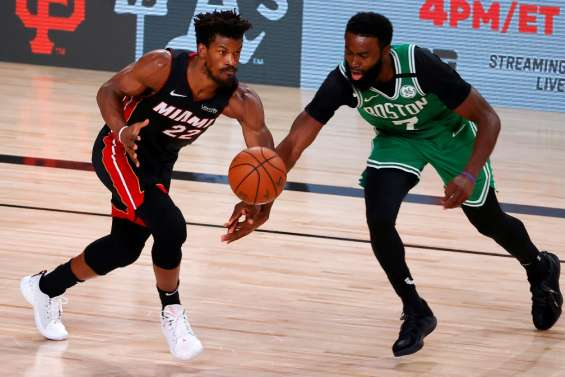 Play-offs NBA: Boston hausse le ton et se relance