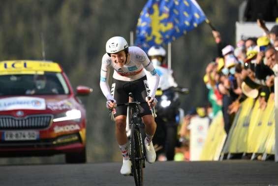 Tour de France: le coup d'Etat du benjamin Pogacar