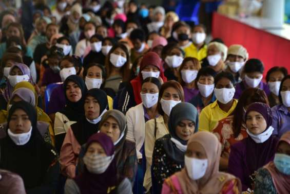 Le bilan de la pandémie de Covid-19 dans le monde à 11H00 GMT