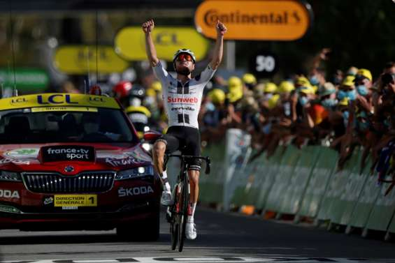 Tour de France: Marc Hirschi remporte la 12e étape, Roglic reste en jaune