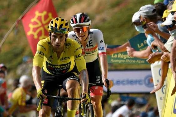 Tour de France: les Slovénes dansent sur le Puy Mary