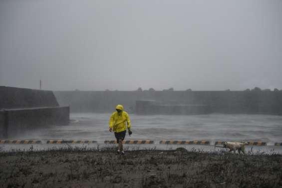 Le typhon Haishen en Corée du Sud après avoir sévi au Japon