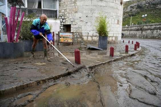 Gard: fin des pluies torrentielles, reprise des recherches pour une disparue