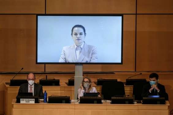 Le Bélarus échoue à faire taire l'opposante Tikhanovskaïa à l'ONU