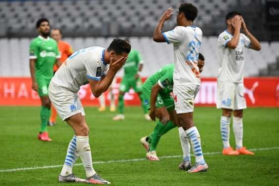 Ligue 1: Saint-Etienne refroidit Marseille