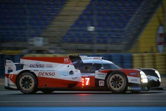 24 Heures du Mans: Une Toyota en pole mais une Rebellion en seconde position