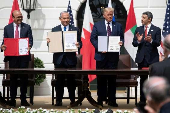 Accords historiques entre Israël les Emirats et Bahreïn
