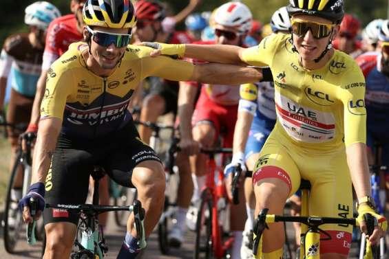 Tour de France: départ de l'étape finale qui doit sacrer Pogacar