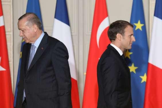 Erdogan incite les Turcs à ne pas consommer français