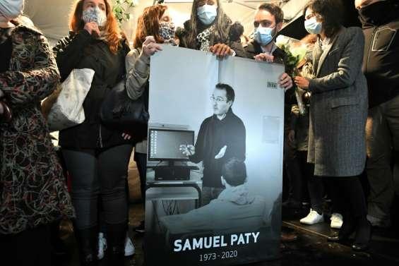 Hommage national à Samuel Paty, sept personnes présentées à un juge antiterroriste