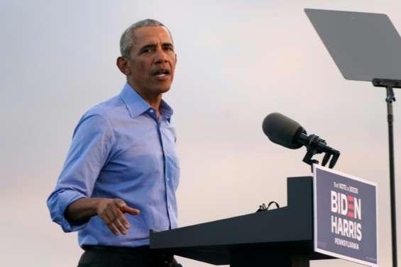 Obama appelle à oublier les sondages et à se mobiliser pour Biden