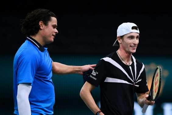 Masters 1000 de Paris: Humbert cède contre Raonic malgré deux balles de match