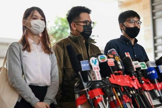 Hong Kong: le militant pro-démocratie Joshua Wong va plaider coupable