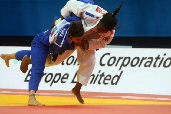 Judo:Malonga sacrée championne d'Europe pour la 2e fois en -78 kg