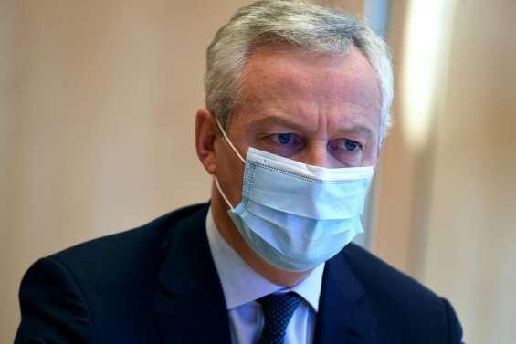 L'aide aux entreprises fermées coûtera 1,6 milliard d'euros par mois, annonce Bruno Le Maire