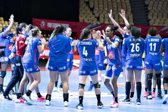 Euro  de hand: Estelle Nze Minko envoie les Françaises en demi-finales