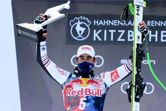 Ski: Feuz et Clarey, à chacun son exploit sur la Streif