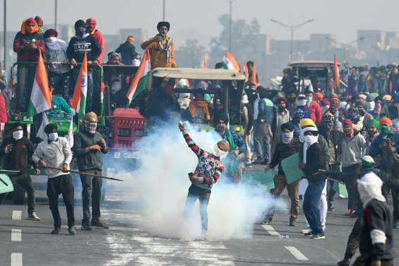 Inde: heurts entre agriculteurs et policiers en marge de la fête nationale