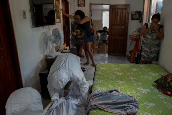 Brésil: à Manaus, l'oxygène, nerf de la guerre contre le Covid-19