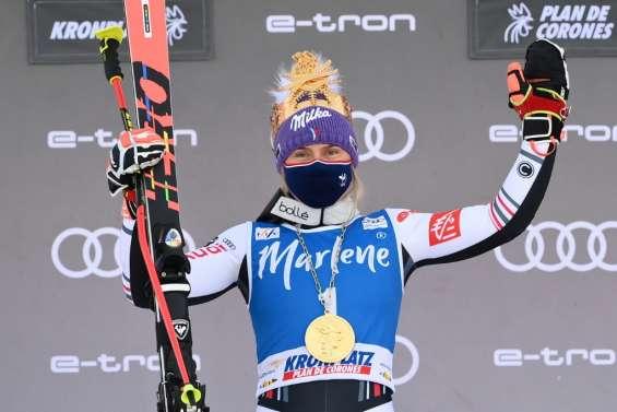 Ski alpin: Worley renoue avec la victoire, à deux semaines des Mondiaux