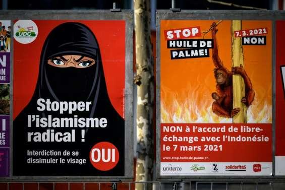 La Suisse vote sur l'initiative anti-burqa