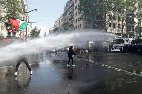 Manifestation pro-palestinienne à Paris: 45 personnes en garde à vue