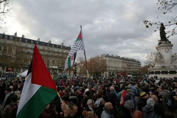 Les soutiens aux Palestiniens appellent à manifester à Paris en dépit de l'interdiction