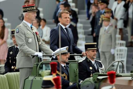 Le général Lecointre, chef d'état-major des armées, tire sa révérence