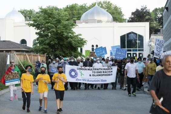 Au Canada, dernier hommage à la famille musulmane tuée à la voiture-bélier