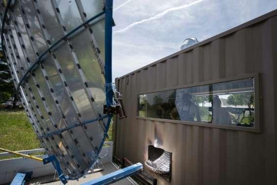 A Marseille, un restaurant solaire pour cuisiner