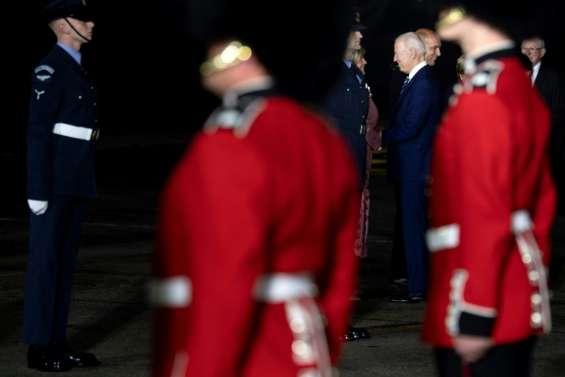 Premier face-à-face Biden-Johnson sur fond de tensions liées au Brexit