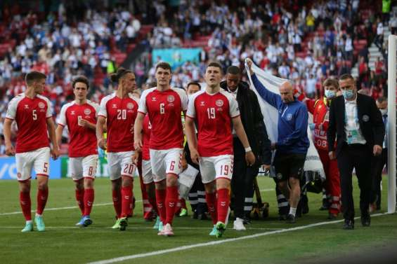 Euro: Eriksen stable après un malaise inexpliqué, l'Europe du foot soulagée