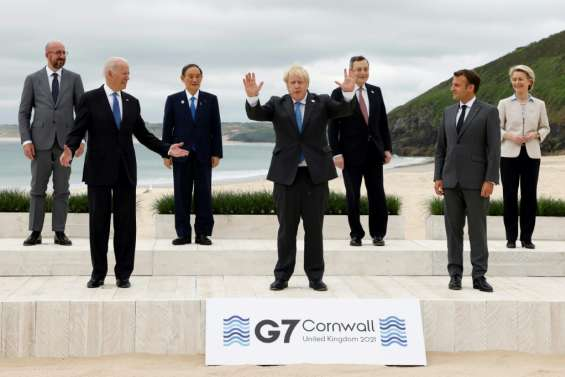Le G7 en sommet avec l'objectif de reconstruire le monde