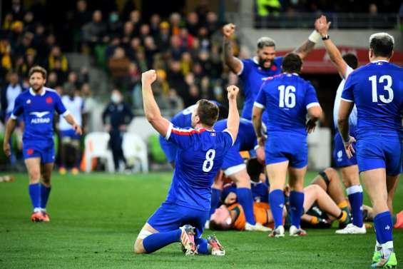 XV de France: les Bleus sur leur 31 en Australie
