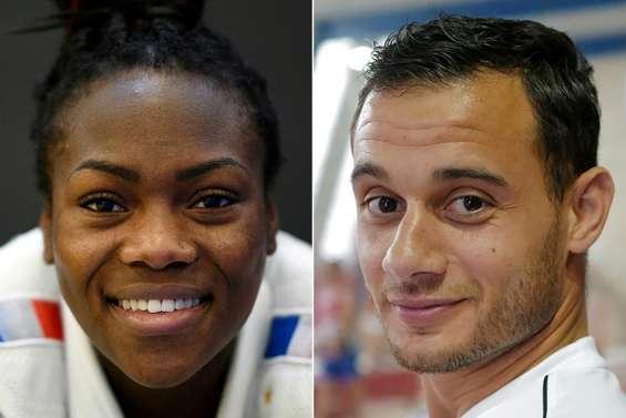JO de Tokyo: Agbegnenou et Aït Saïd, premier duo mixte élu porte-drapeaux des Bleus