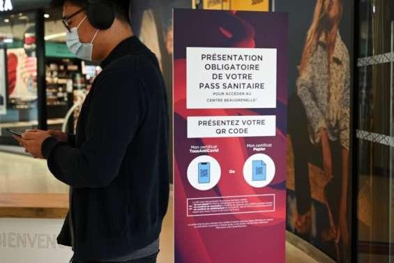 Pass sanitaire dans les centres commerciaux: