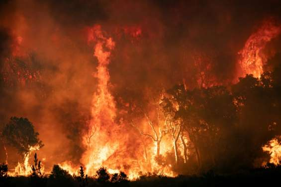 Le nord du Maroc à son tour touché par d'importants feux de forêt