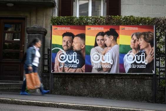 Les Suisses en passe d'autoriser le mariage pour tous