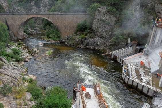 Un barrage de l'Allier réaménagé