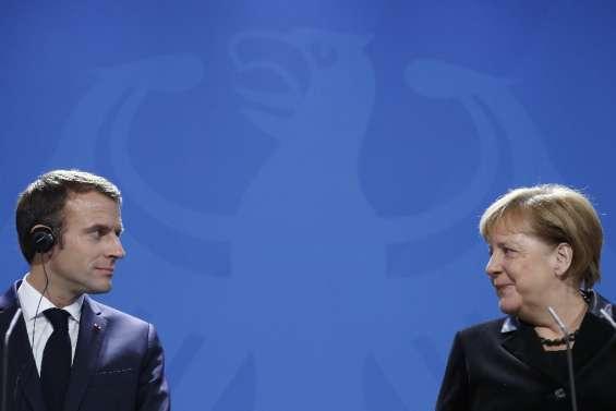 Macron reçoit Merkel à l'approche des élections allemandes