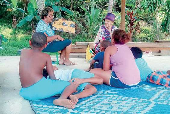 Mamilou essaime ses contes à Bouirou
