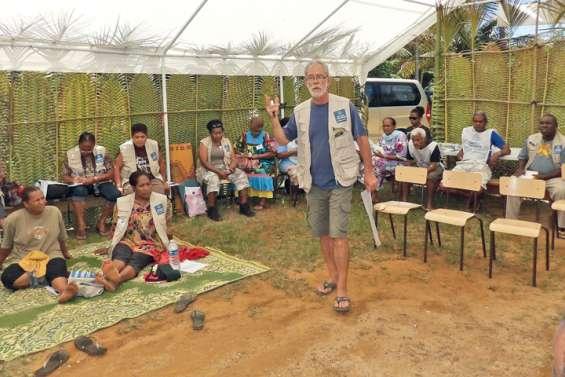 Le Secours catholique en action à Croix du Sud
