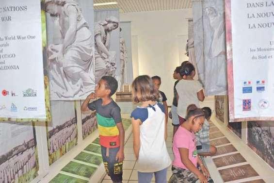 Une exposition très prisée par les scolaires