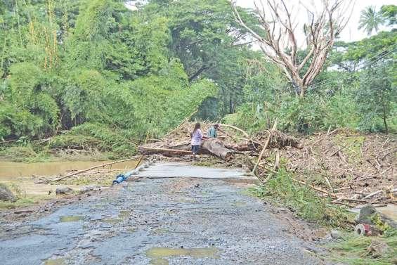 Des dégâts matériels sur VKPP