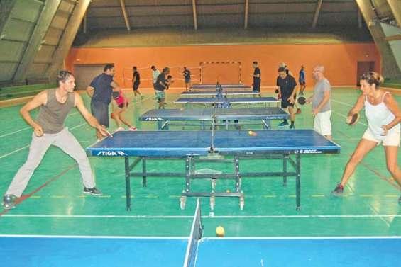 Le club de tennis de table fête son premier anniversaire